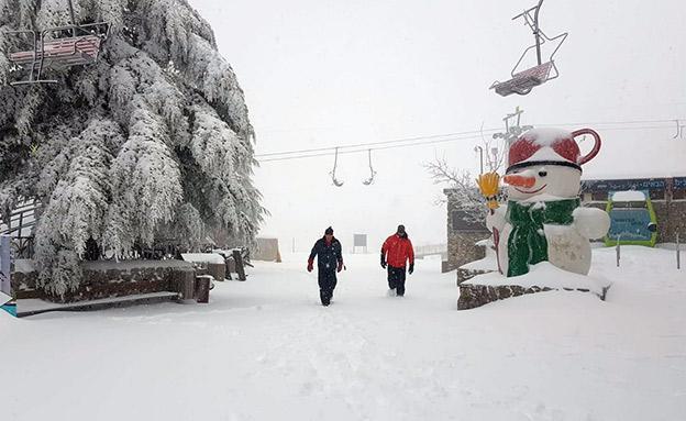 סיפור גיי אישי נתקעתי בשלג בירושלים