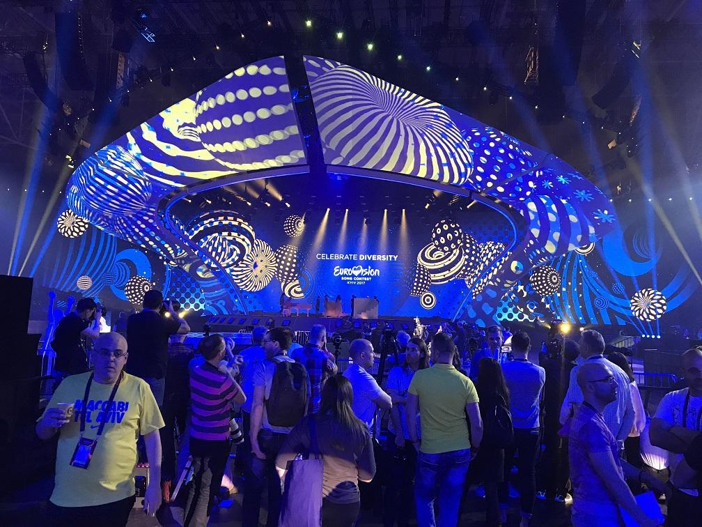 אירוויזיון 2017 – השבוע של המופעים הגדולים מתחיל